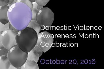 Domestic Violence Awareness Month Celebration