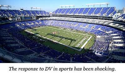 Stadium with Line