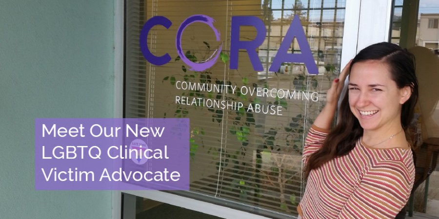 Meet Our New LGBTQ Clinical Victim Advocate