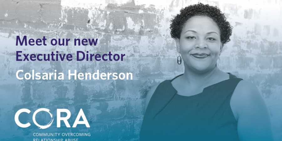 CORA's New Executive Director