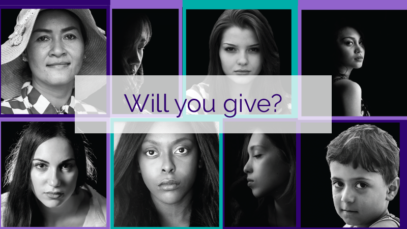 Will you give to help end intimate partner abuse?
