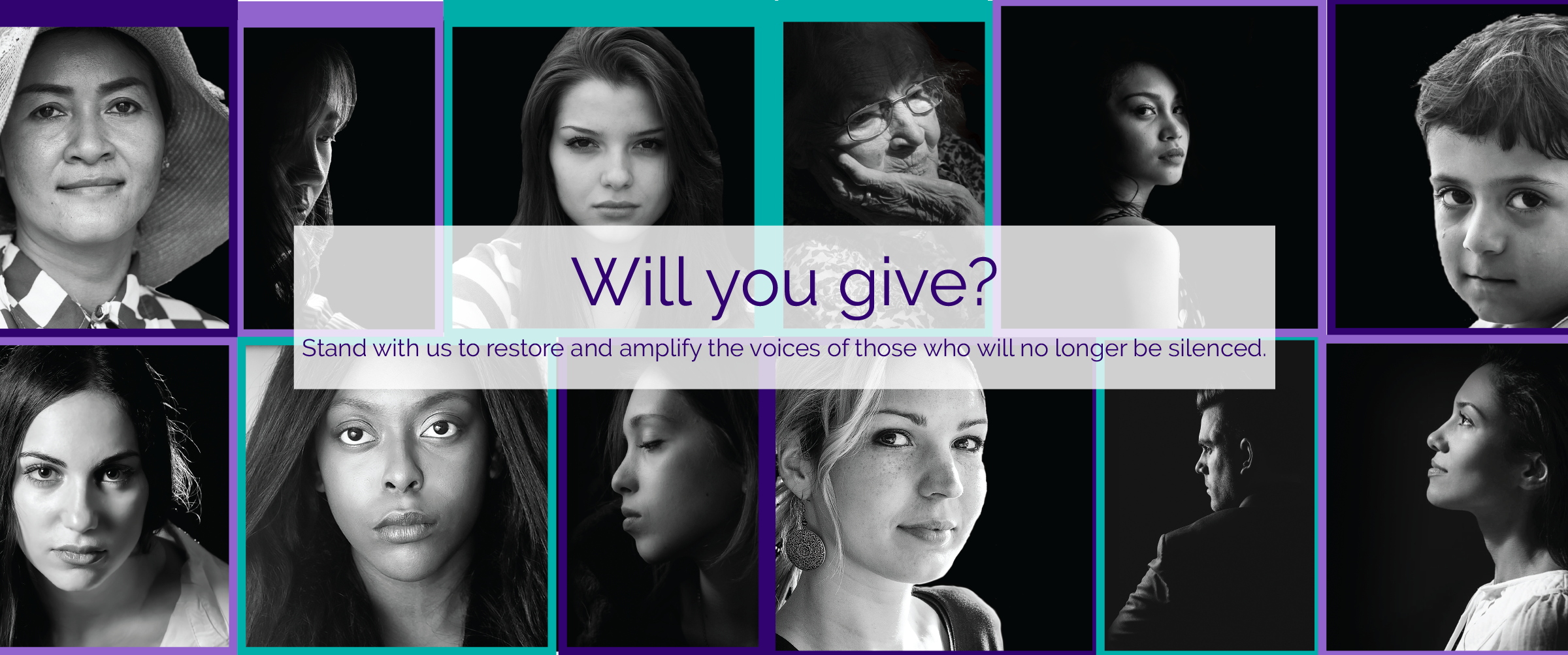 Will you give to help those experiencing abuse?