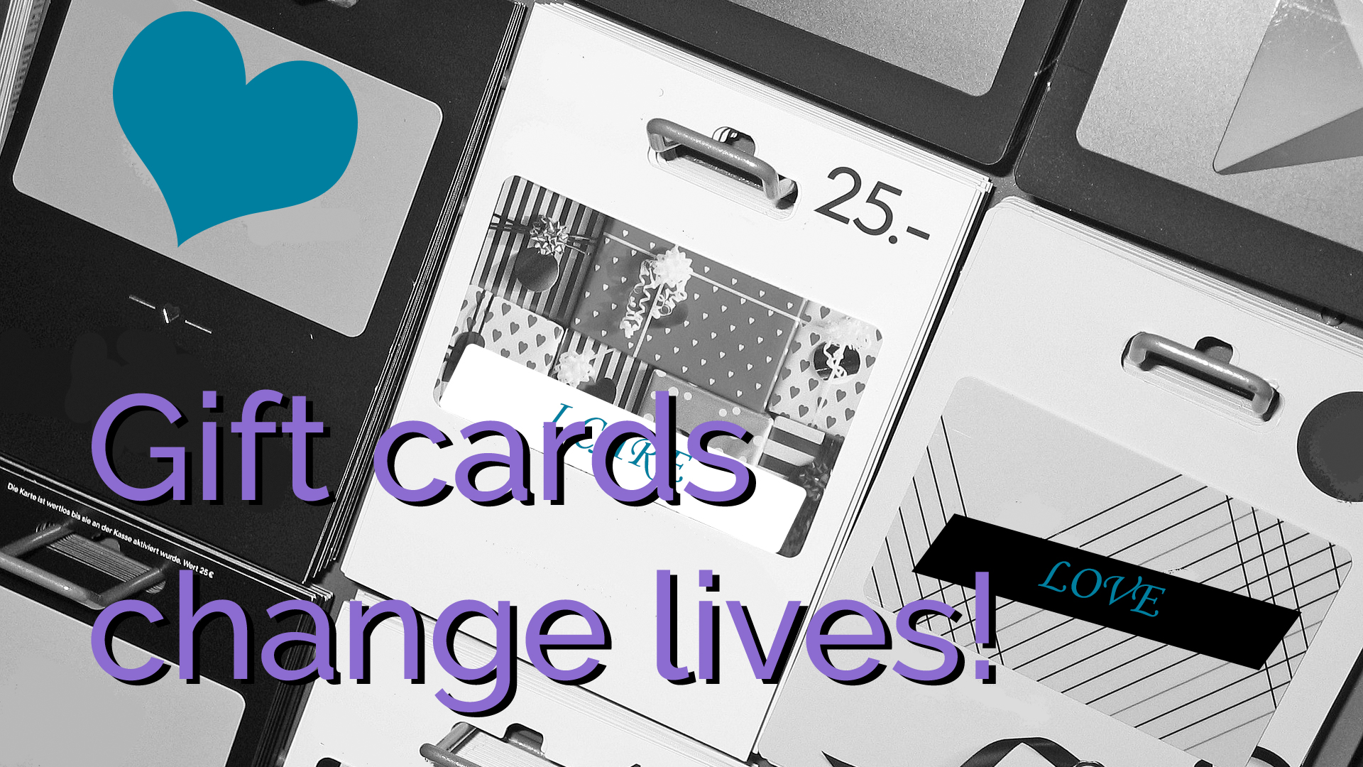 Donating gift cards changes the life of someone escaping abuse.