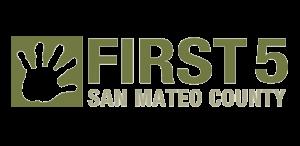 First 5 San Mateo County Logo